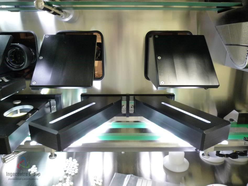 Machine d'inspection de comprimés